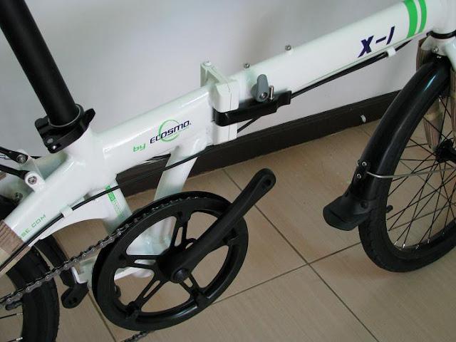 Dahon DLT X- 1. Folding Bike. Harga: Rp. 1.300.000