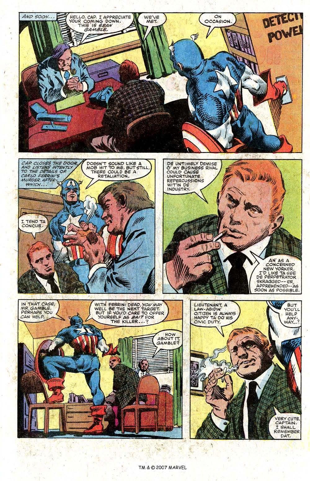 Read online Captain America (1968) comic -  Issue # _Annual 5 - 21