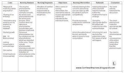 Lionheart Nurses Blog: Nursing Care Plan : Alteration of ...