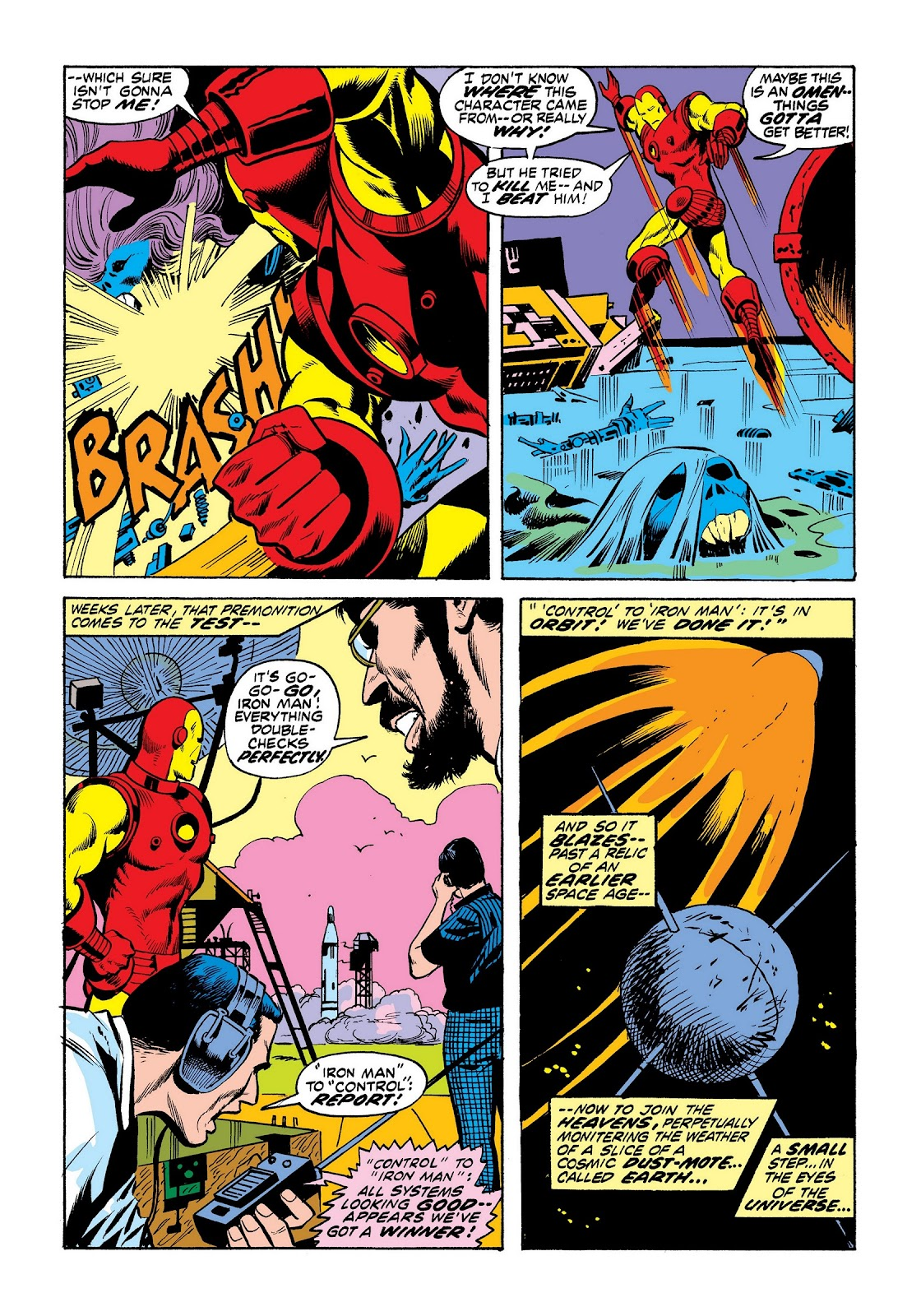 Read online Marvel Masterworks: The Invincible Iron Man comic -  Issue # TPB 8 (Part 3) - 71