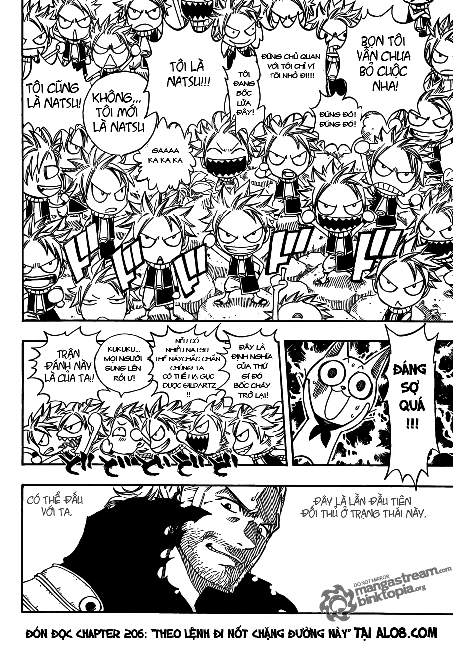 Fairy Tail chap 205 trang 19