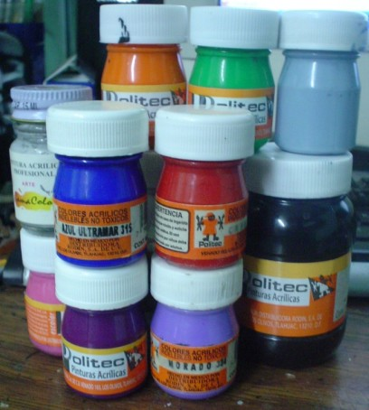 Lobos de fenris materiales basicos para modelismo parte 1 for Pinturas gamacolor