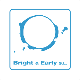 Bright & Early blue logo