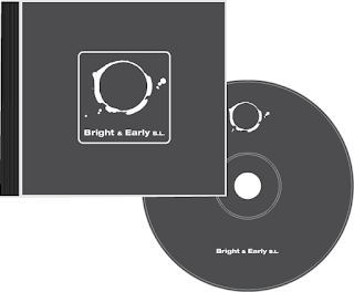 Bright & Early CD label and cover