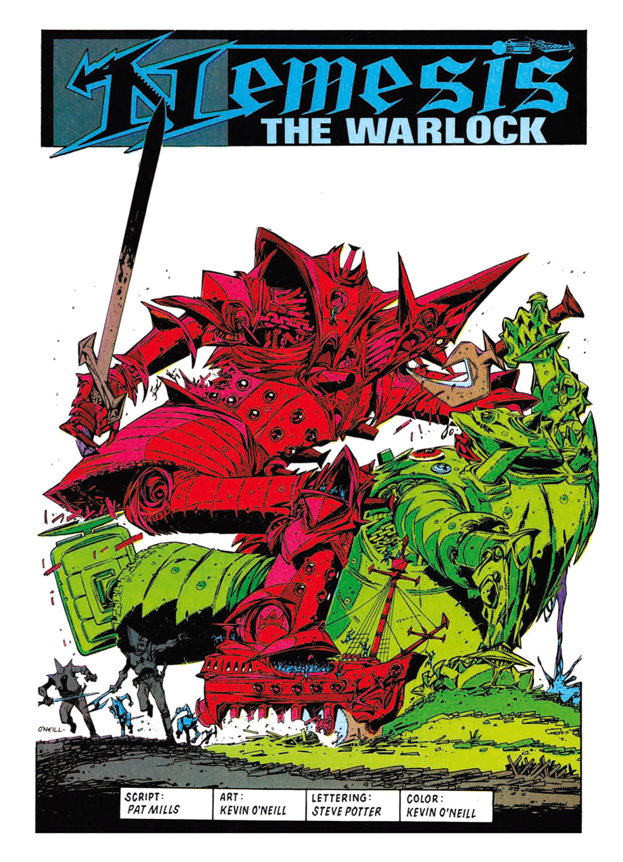 Read online Nemesis The Warlock comic -  Issue # TPB Deviant Edition - 191