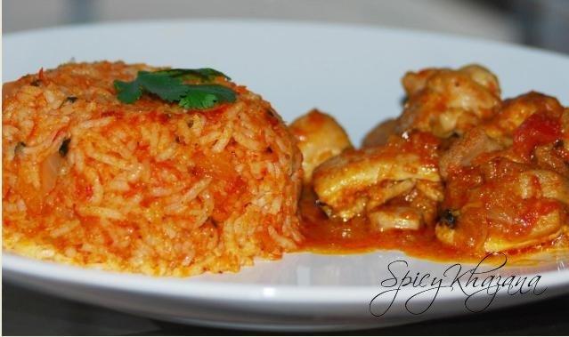 Khazana Of My Favorite Recipes Tomato Briyani