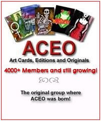 Ebay ACEO (Art Cards, Editions & Originals) Group for ATC Artists