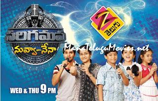 SaReGaMaPa -27th Jan -S.P.Sailaja & Sri Ram as Guest