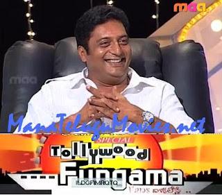 Prakash Raj in Tollywood Fungama