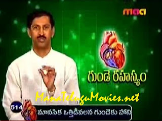 Mental Stress effect on Heart -Manthena Health Tips