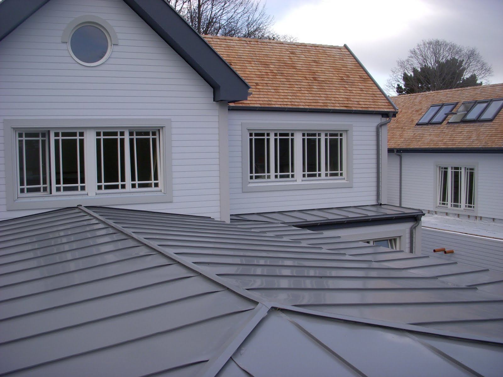 Zinc Roofs Amp Interlock 174 Lifetime Metal Roofing Systems