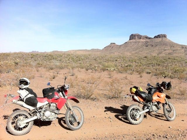 Giant Loop rider: Dualsport Touring Southern Arizona on KTM
