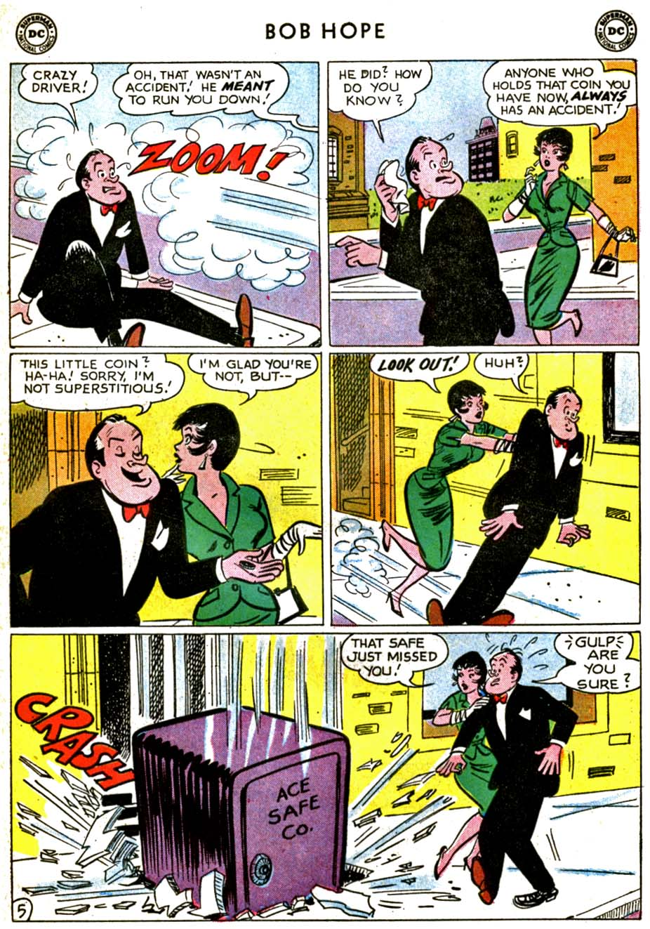 The Adventures of Bob Hope issue 71 - Page 7