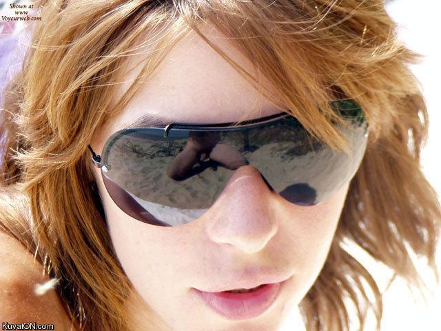 Bilderesultat for funny reflections in glasses