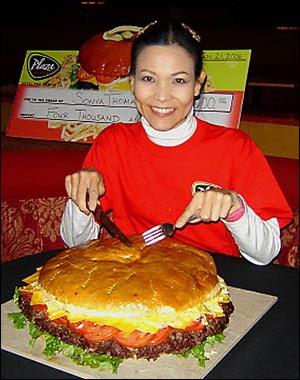 Black Widow Food Eating Contest