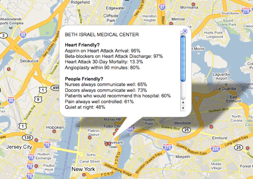Using Fusion Tables We Created A Customized Map To Display Information From The Database For Example You Can See A Map Of Heart Friendly And People