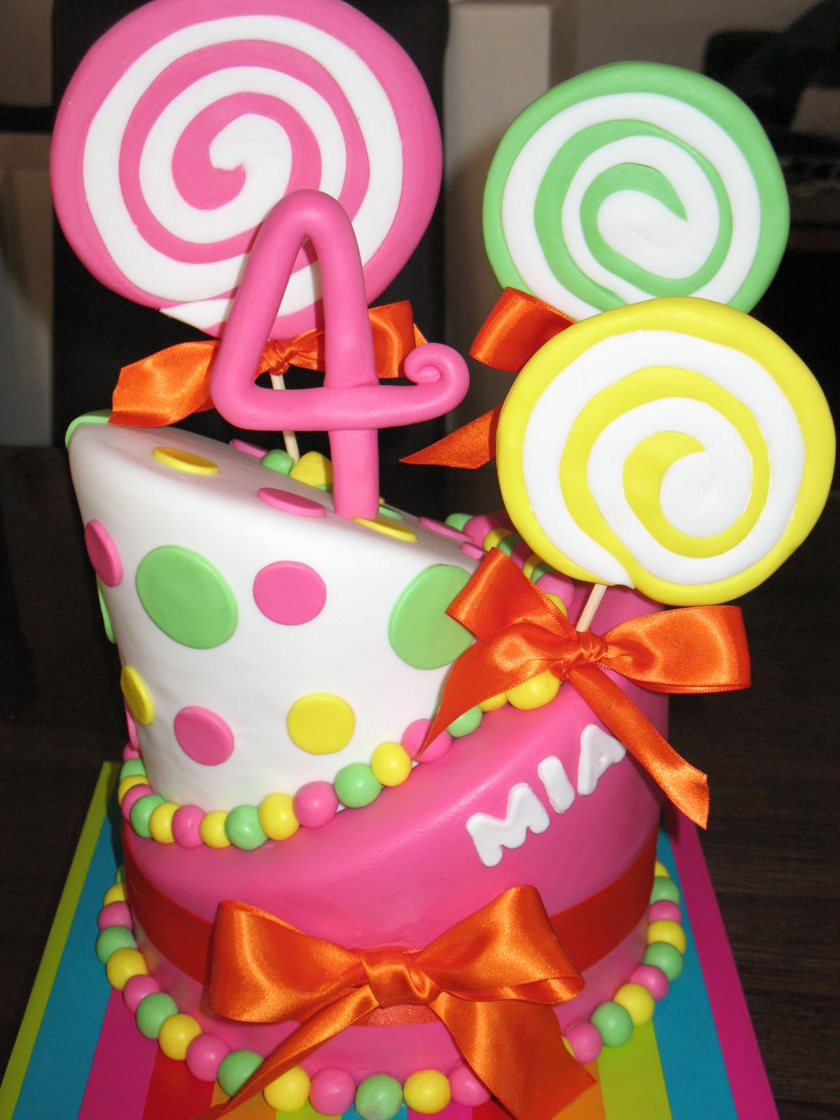 Sandy's Cakes: Mia's Lollipop Cake