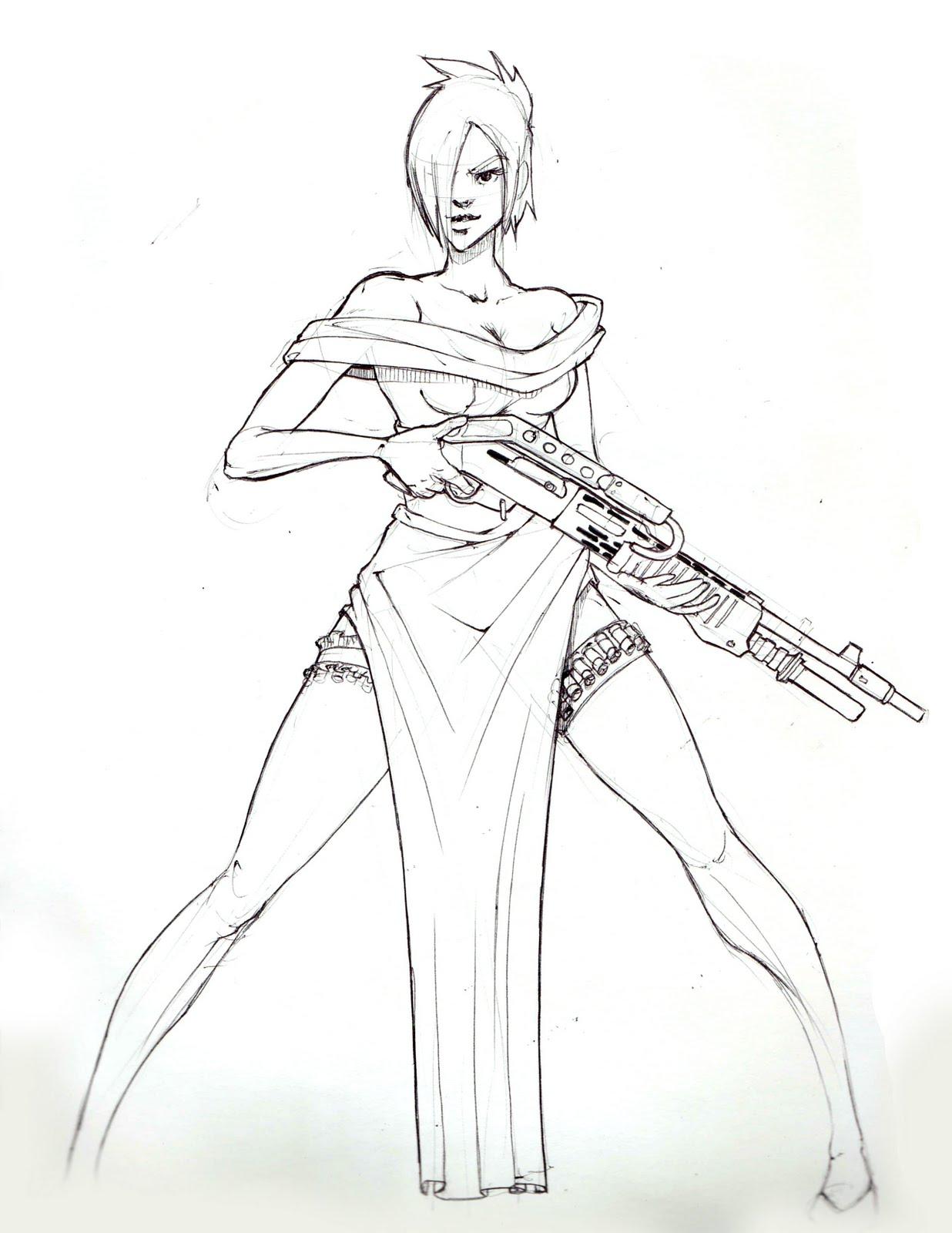 Sketch Armory: Guns N Roses