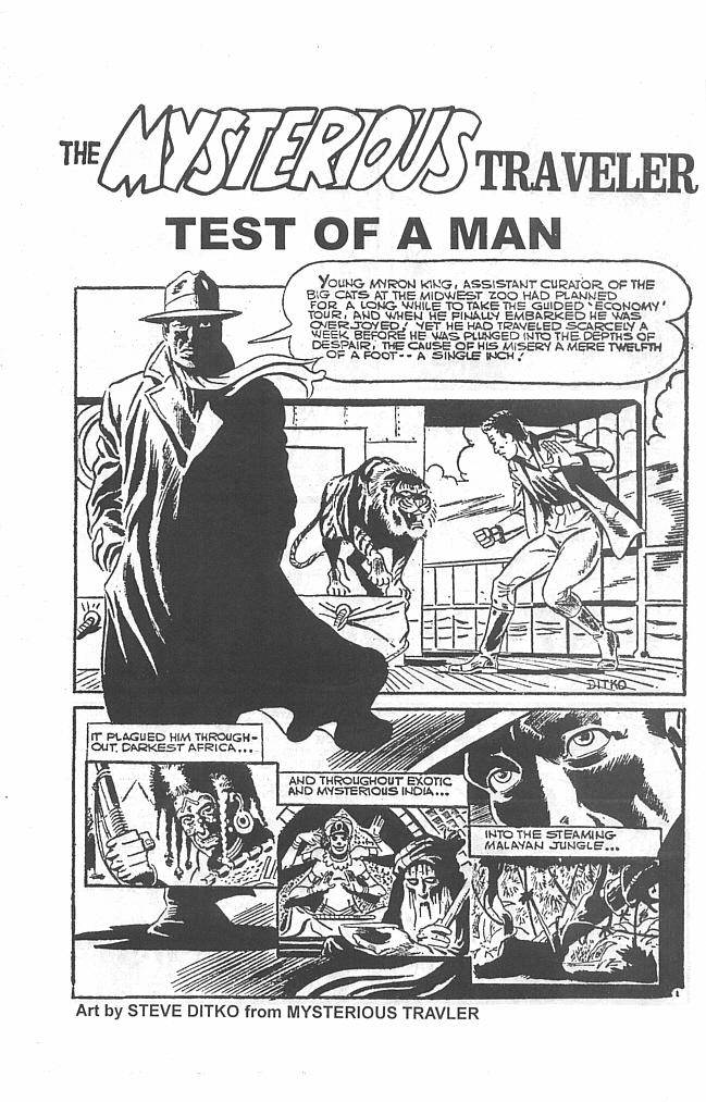Read online Men of Mystery Comics comic -  Issue #34 - 36