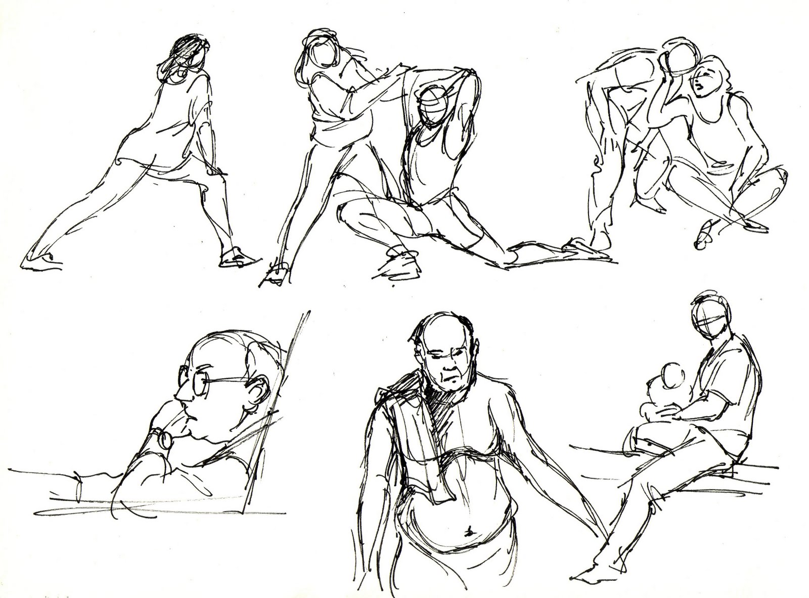 Inspector Cleuzo: Life Drawings and Quick Sketches