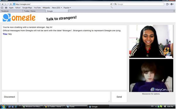 omegle girl chat only