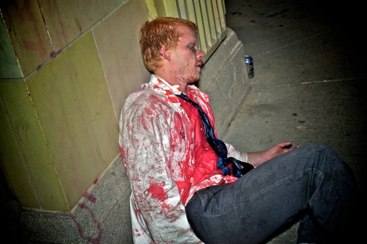 anthony bourdain kitchen confidential degin the chopping block: zombie walk winnipeg 2010