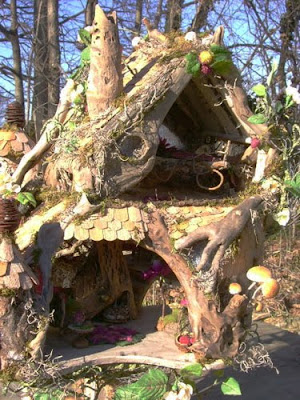 The Fantasy Forest The Mushroom Fairy House  Julie McLaughlin