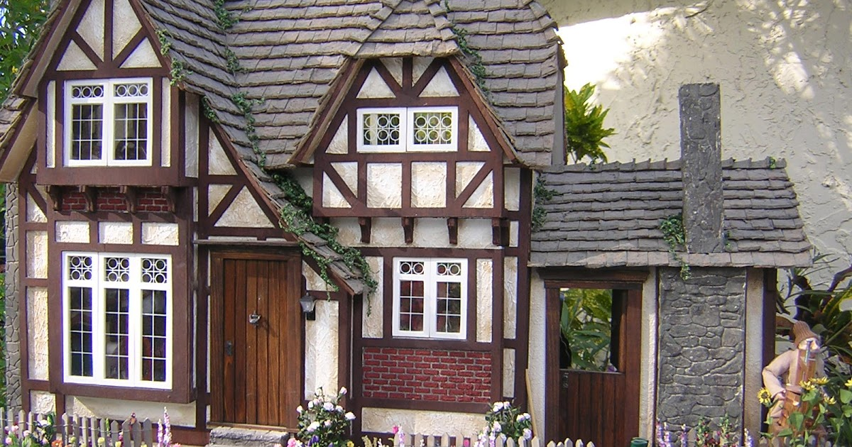 Dollhouses By Robin Carey The Tudor Cottage