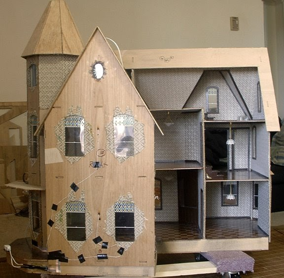 The Garfield Blog How To Electrify A Dollhouse