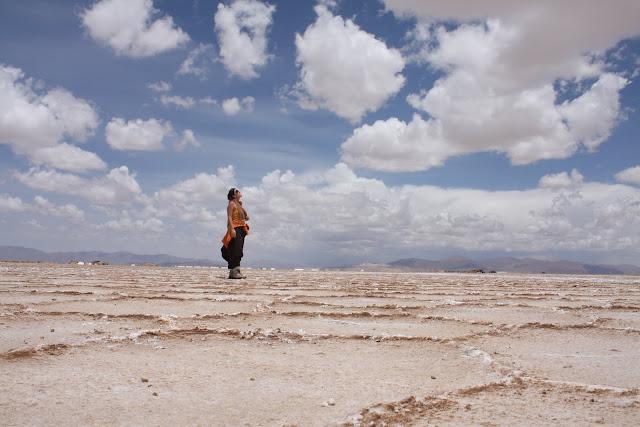 Visitar as SALINAS GRANDES do norte argentino desde Salta | Argentina