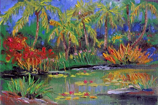 Tropical Art Oil Paintings