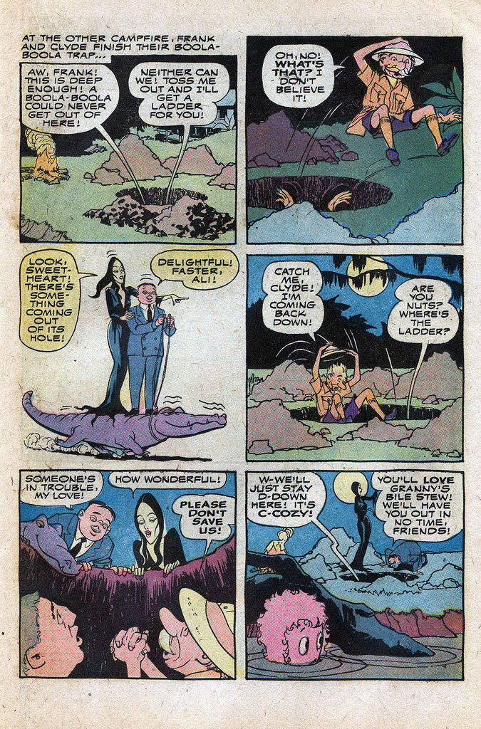 Read online Addams Family comic -  Issue #1 - 7