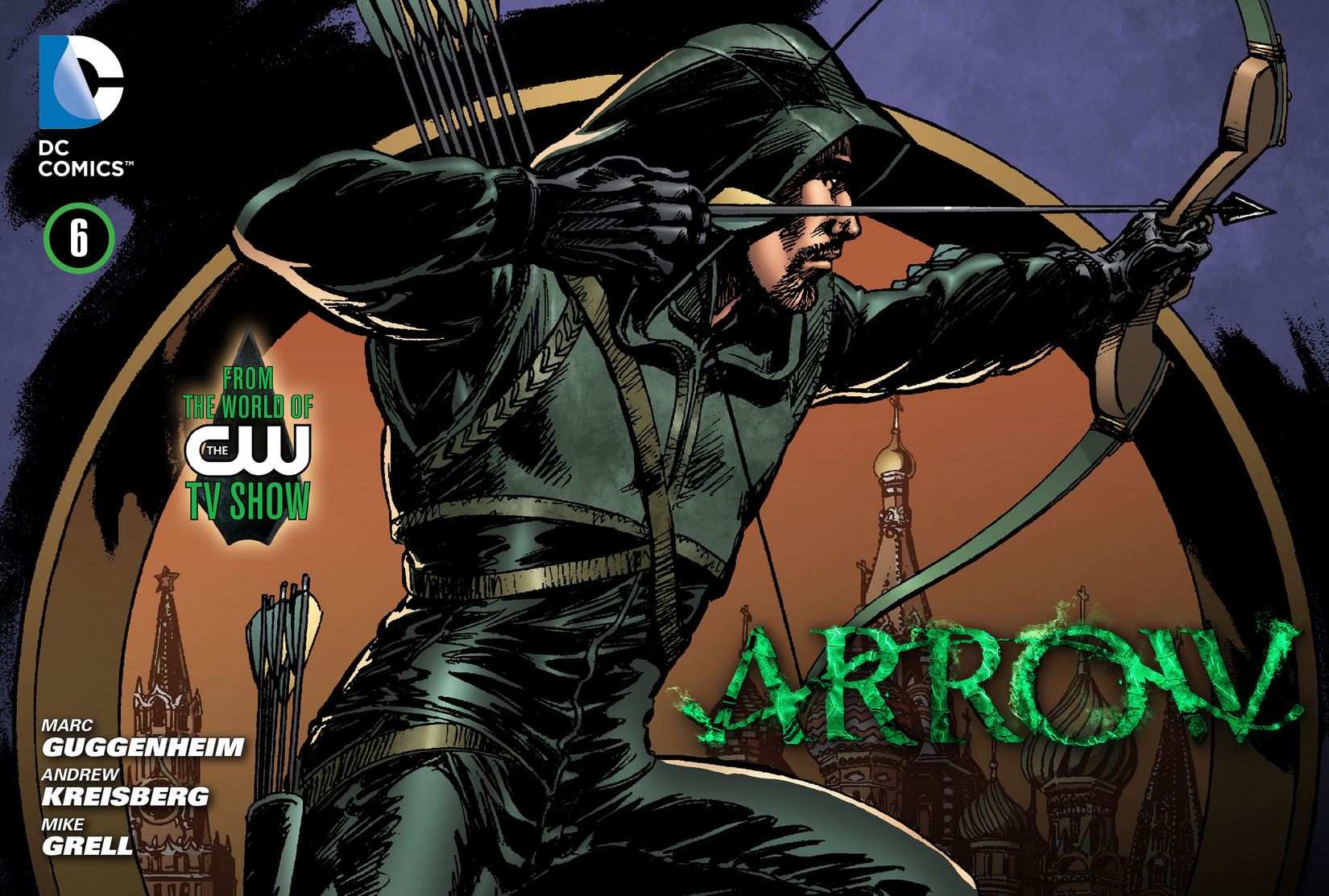 Read online Arrow [II] comic -  Issue #6 - 1