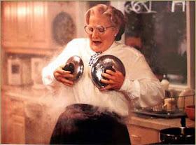 Dilettantsia Mrs Doubtfire 1993