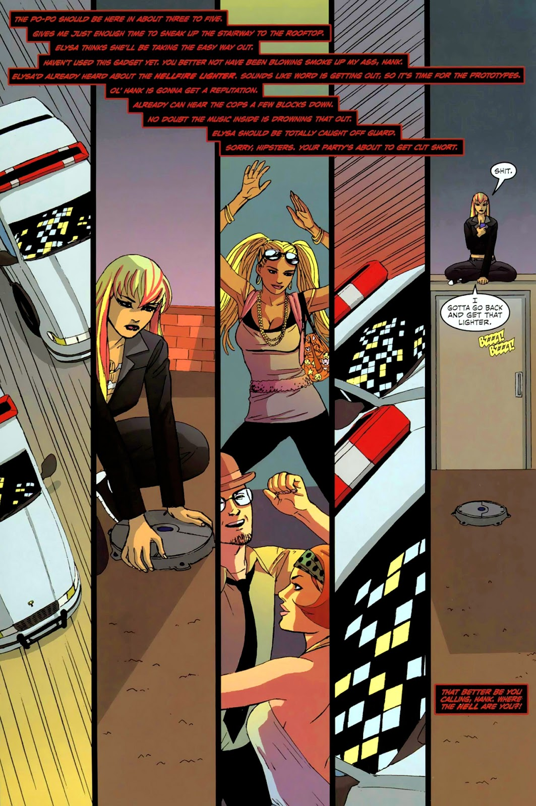Read online Mercy Sparx (2008) comic -  Issue #2 - 13