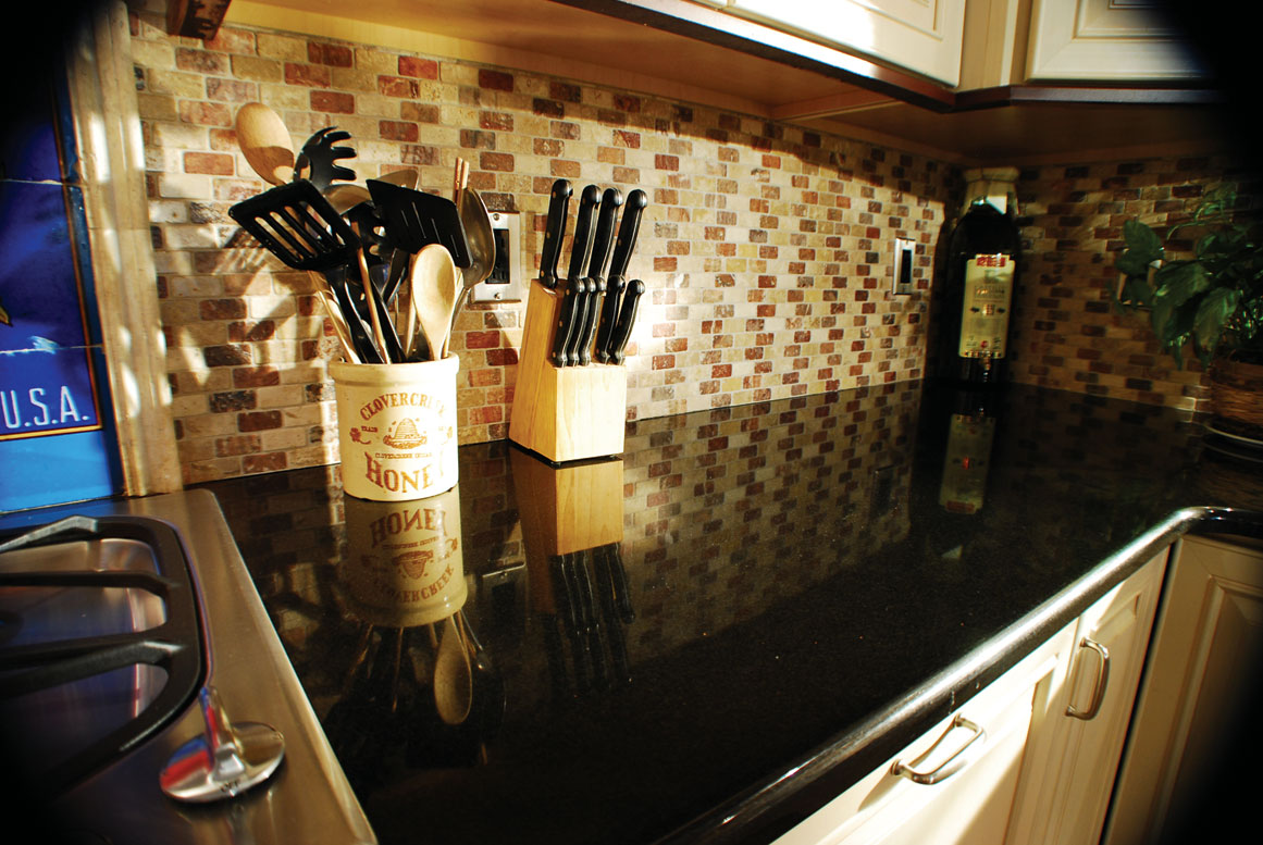 What Color Countertops Go with White Cabinets