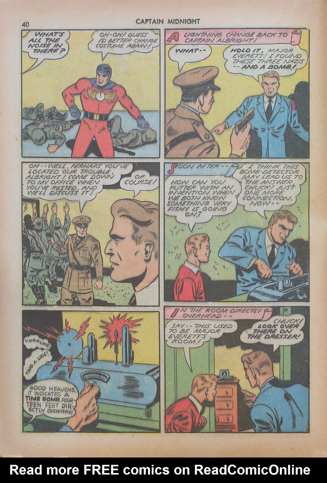 Captain Midnight (1942) issue 7 - Page 40