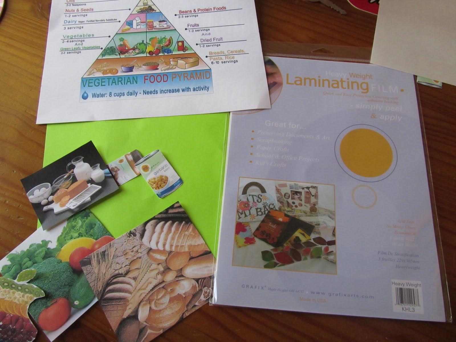 Food Pyramid Crafts For Preschoolers