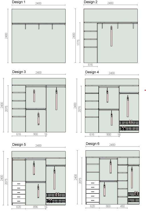 Rocky robes design tips - Small closet design layout ...
