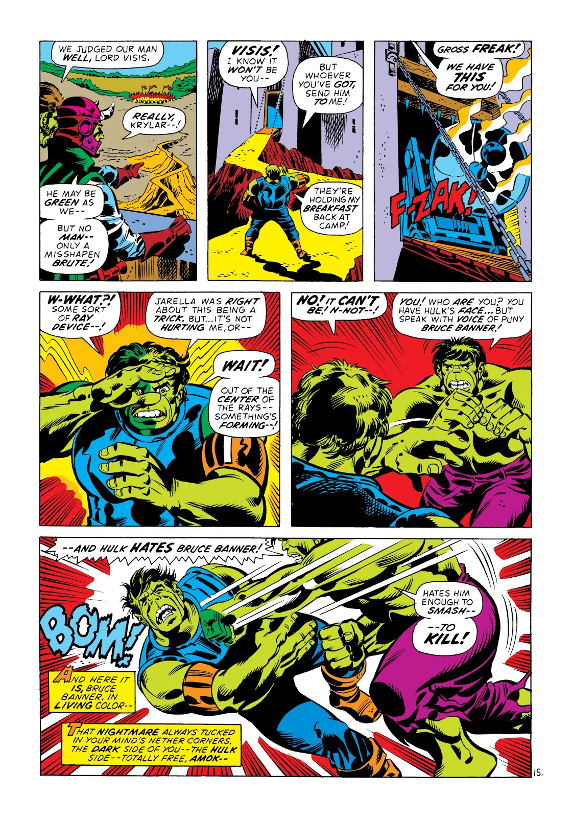 Read online Marvel Masterworks: The Incredible Hulk comic -  Issue # TPB 8 (Part 3) - 76