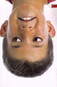 Awesome Optical Illusions: Upside-down face