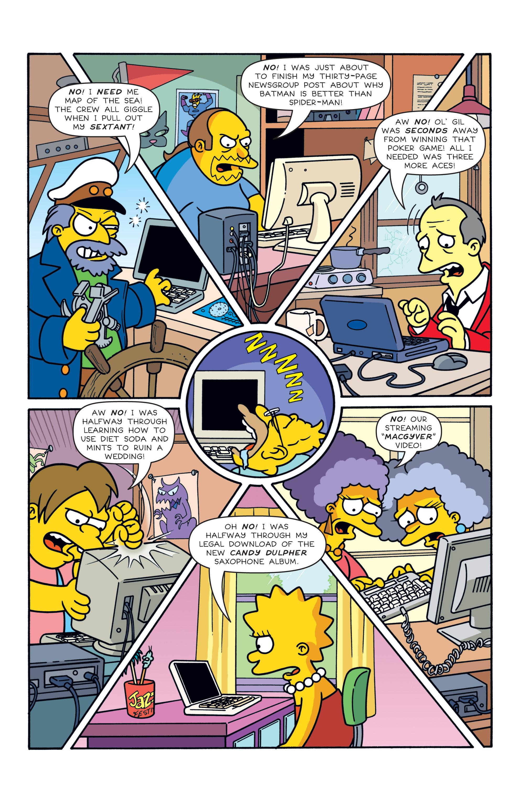 Read online Simpsons Comics comic -  Issue #187 - 6