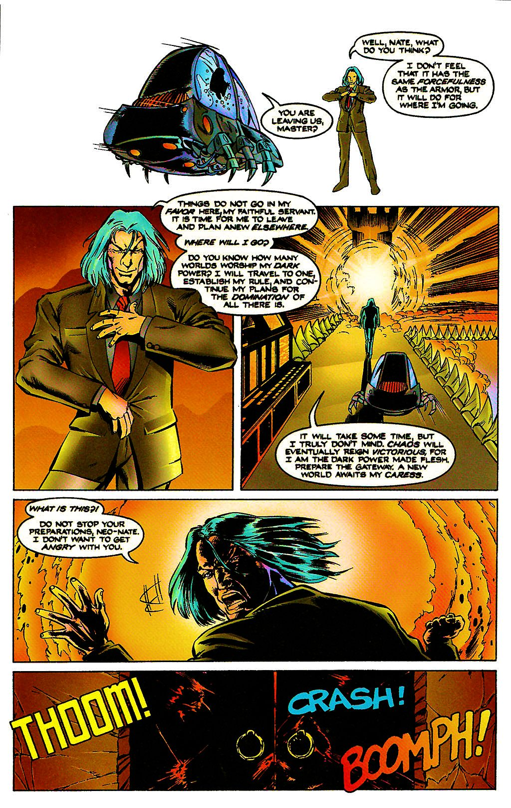 Read online Chains of Chaos comic -  Issue #3 - 18