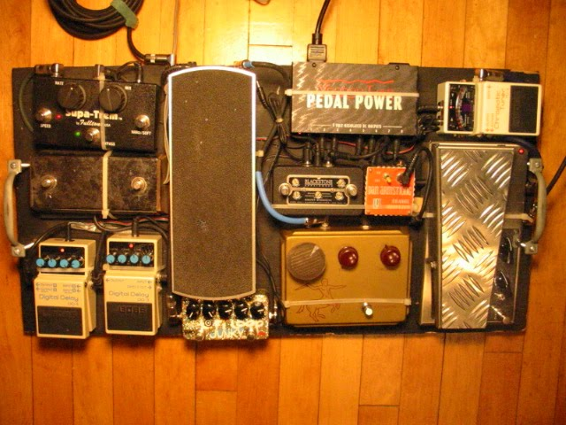 Geoff Farina of Karate Pedalboard