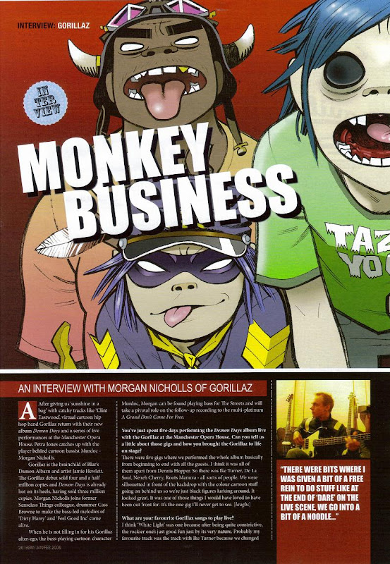 Gorillaz - Monkey Business
