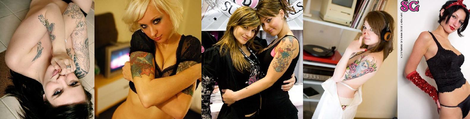 Gambar Tatto Keren di Bagian Tubuh Cewek - 21