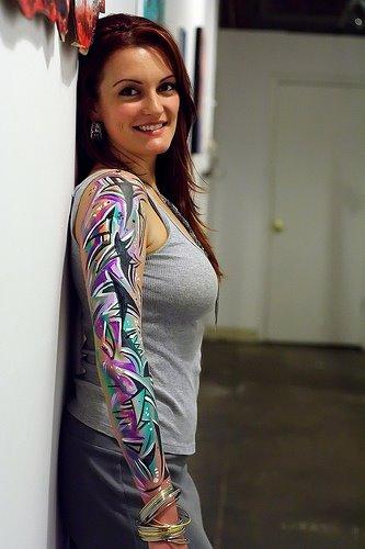 Gambar Tatto Keren di Bagian Tubuh Cewek - 10