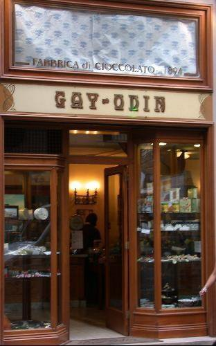 Italian chocolate - Naples , Gay-Odin