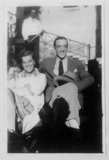 My grandparents, Giuditta Rissone and Vittorio De Sica