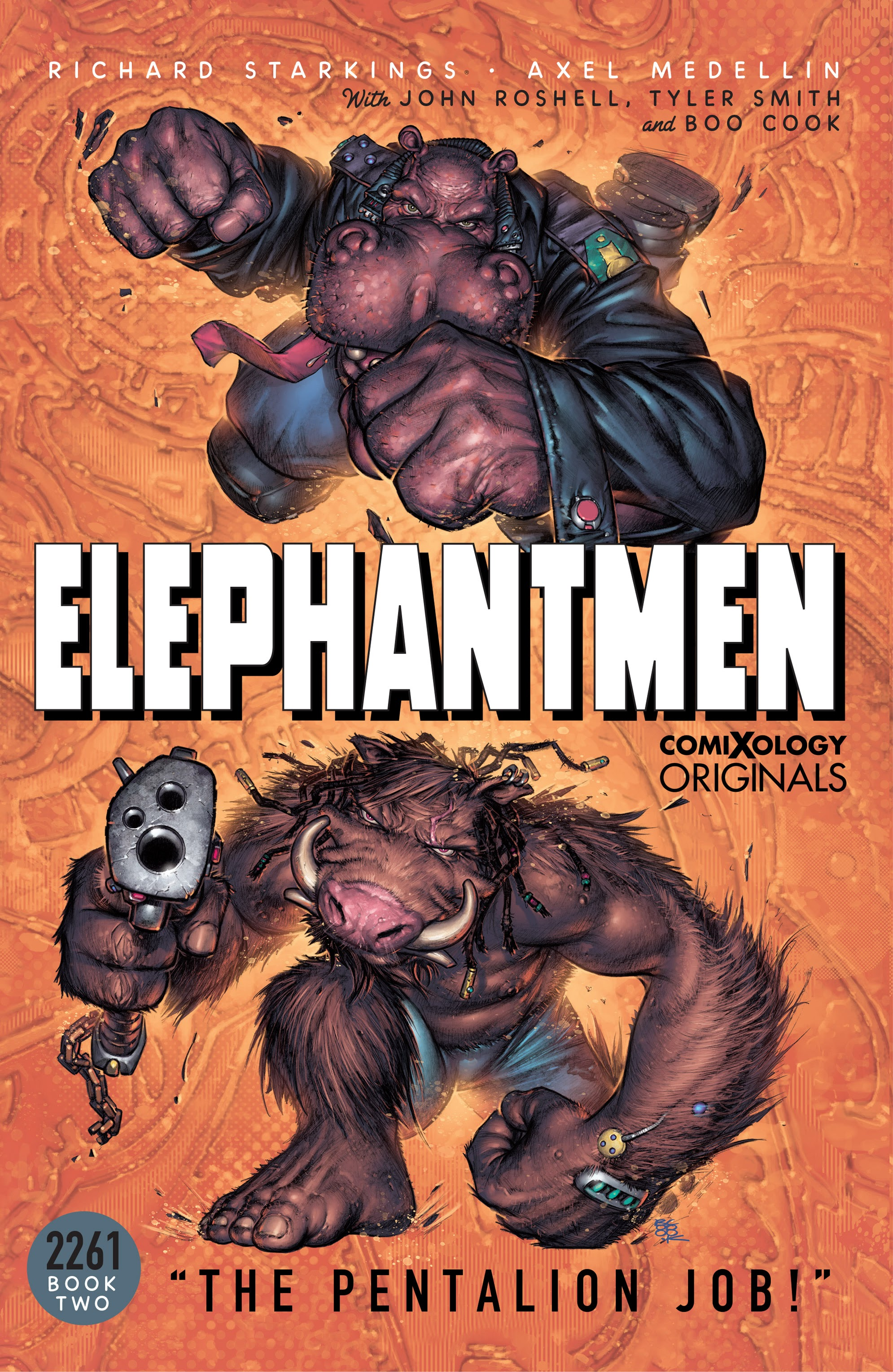 Elephantmen 2261 Season Two: The Pentalion Job issue TPB - Page 1